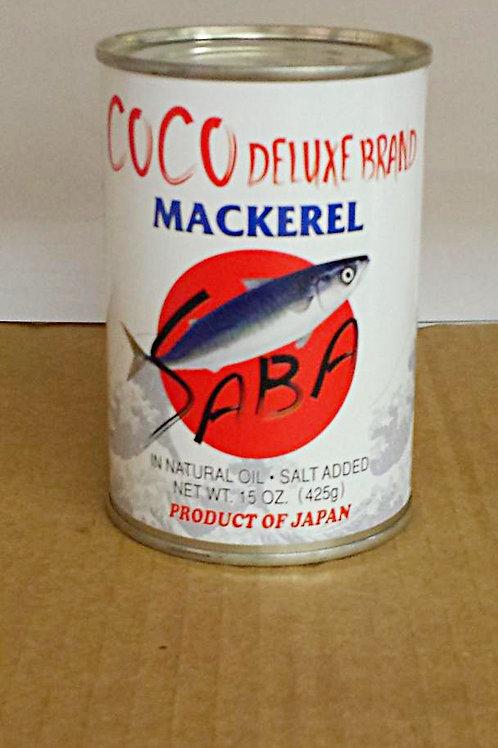 Coco Mackerel 15oz, 4 cans for$46.69+Free Shipping