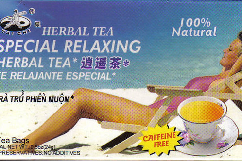 Tai Chi Special Relaxing Herbal Tea 12bags 12 boxes Free Shipping