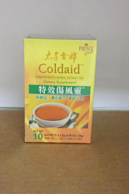 Prince Gold Coldaid 10x3gm Free Shipping