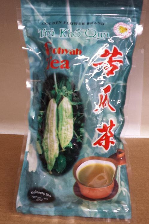 Golden Flower Tra Kho Qua/Gohyah Tea/Bitter Melon Tea 85gm 8 pkg Free Shipping
