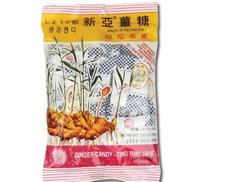 Ginger Candy - Ting Ting Jahe 125gm Free Shipping