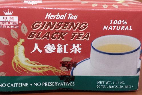 Royal King Ginseng Black Tea 20bags 8 boxes Free Shipping
