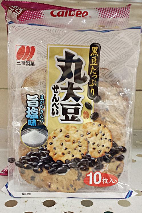 Sanko Marudaizu Senbei (Japanese Baked Rice Cracker 10pc Free Shipping