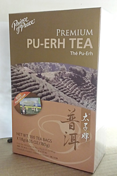 Prince of Peace Premium Pu-erh Tea 100bags 2 boxes Free Shipping