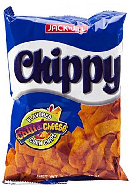 J&J Chippy Chili & Cheese Corn Chip 110gm 6 pkg Free Shipping