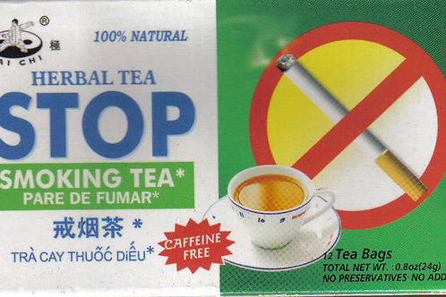 Tai Chi Stop Smoking Tea 12bags 6 boxes Free Shipping
