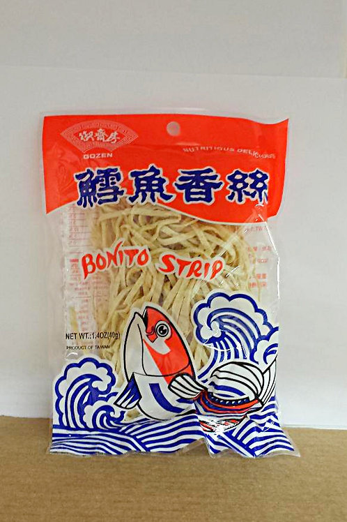 Gozen Bonito Strip 1.4oz 6 pkgs Free Shipping