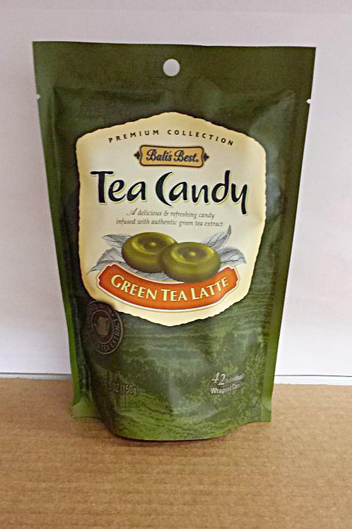 Bali's Best Tea Candy Green Tea Latte 150gm 7 pkg Free Shipping