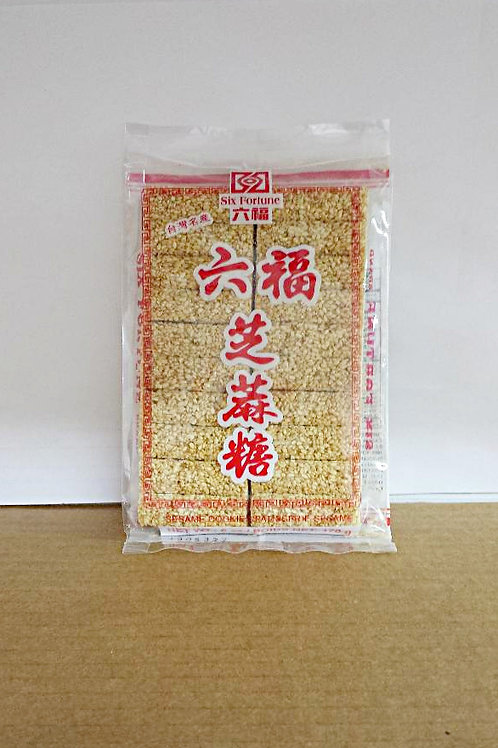 Six Fortune Sesame Cookie 170gm 6 pkg Free Shipping