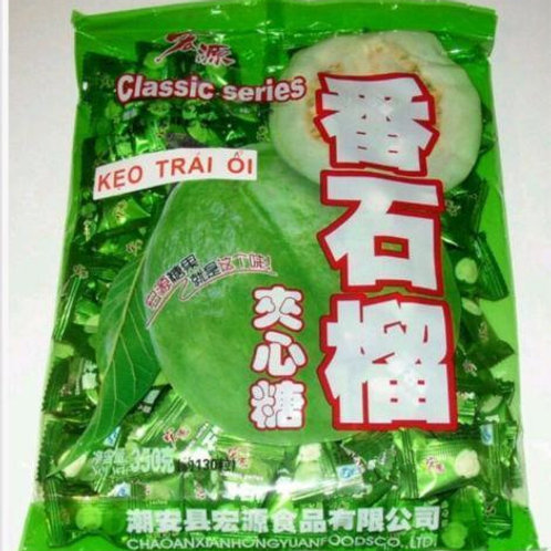 Hongyuan Guava Flavoured Candy 350gm Free Shipping