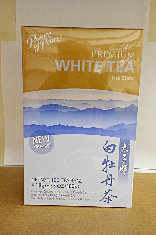 Prince of Peace Premium White Tea 100 bags 2 boxes Free Shipping
