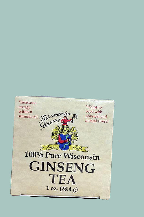 Burnmeister Ginseng Tea 1oz 2 boxes Free Shipping