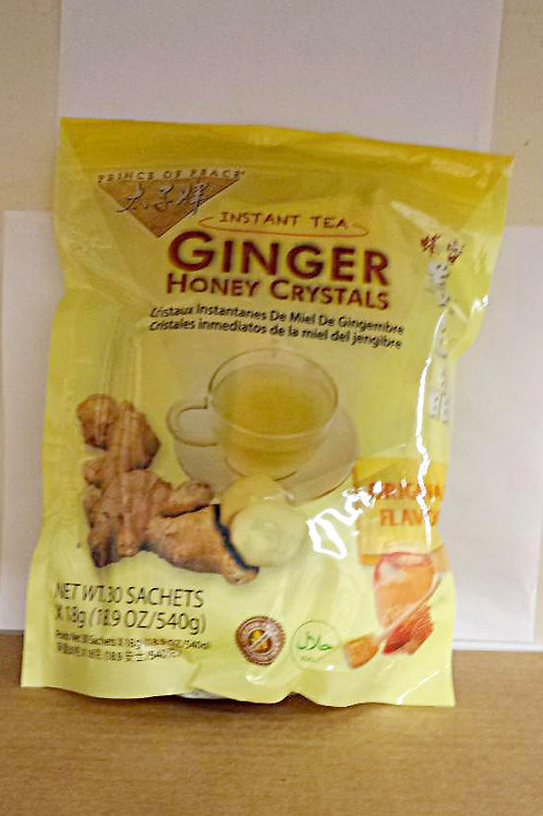 Prince of Peace Ginger Honey Crystal 30bags 4 pkg Free Shipping