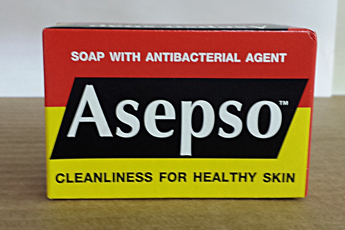 Asepso soap 80gm 8 bars Free Shipping