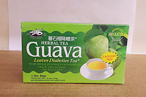 Tai Chi Guava Leaves Diabeties Tea 12 bags 12 boxes Free Shipping