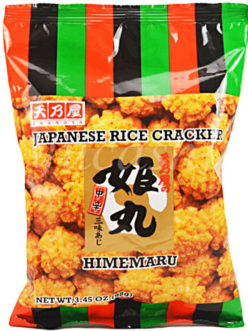 Hime Maru Japanese Rice Cracker 98gm Free Shipping