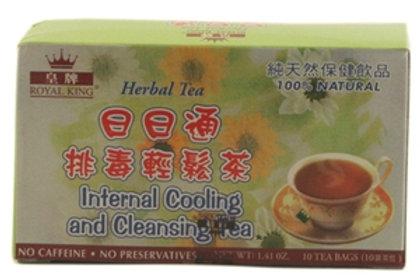 Royal King Internal Cooling & Cleansing Tea 10bags 5 boxes Free Shipping
