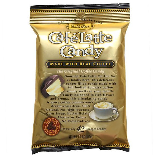 Bali's Best Cafe Latte Candy 150gm 4 pkgs Free Shipping