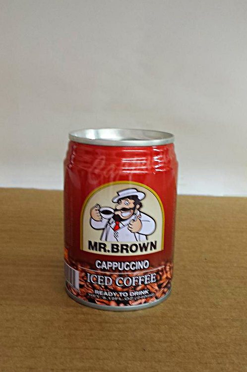 Mr. Brown Cappuccino Coffee 240ml Free Shipping