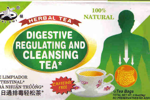 Tai Chi Digestive Regulating & Cleansing Tea 12bags 6 boxes Free Shipping