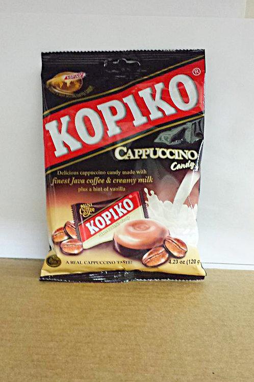 Kopiko Cappuccino Candy 120gm 6 pkg Free Shipping
