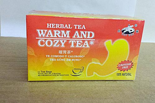 Tai Chi Warm & Cozy Tea 12 bags 12 boxes Free Shipping