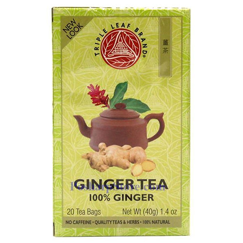 Triple Leaf Ginger Tea 20bags 6 boxes Free Shipping