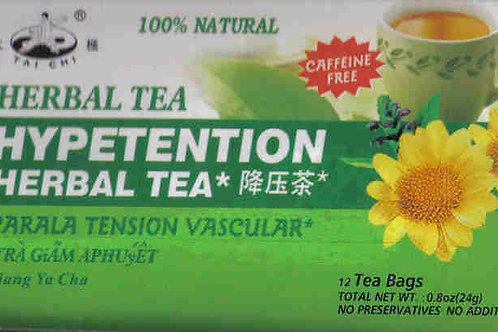 Tai CHi Hypertention Herbal Tea 12bags 12 boxes Free Shipping