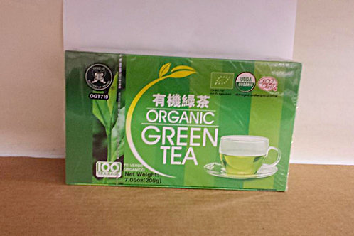 Butterfly Organic Green Tea 100bags 2 boxes Free Shipping