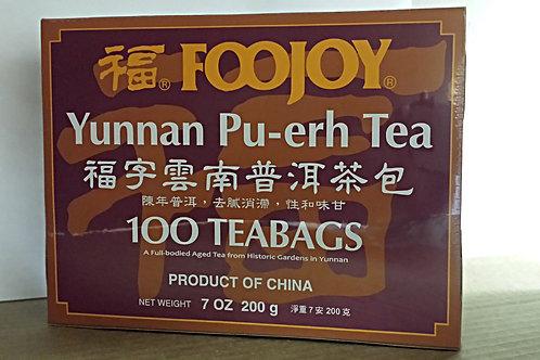 Foojoy Yunnan Pu-erh Tea 100bags Free Shipping