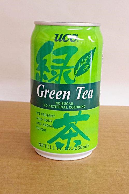 UCC Green Tea 330ml Free Shipping