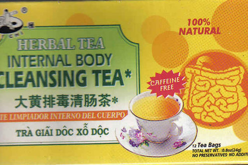 Tai Chi Internal Body Cleansing Tea 12bags 6 boxes Free Shipping
