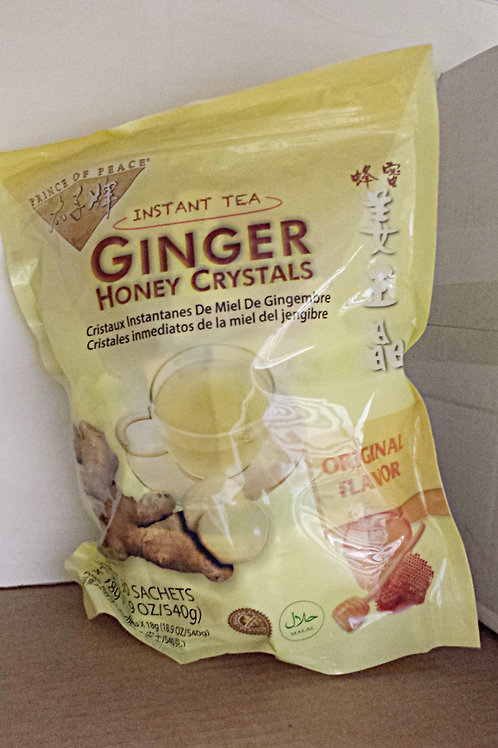 Prince of Peace Ginger Honey Crystal 30bags Free Shipping