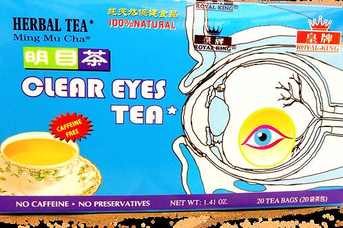 Royal King Clear Eyes Tea 20 bags 8 boxes Free Shipping