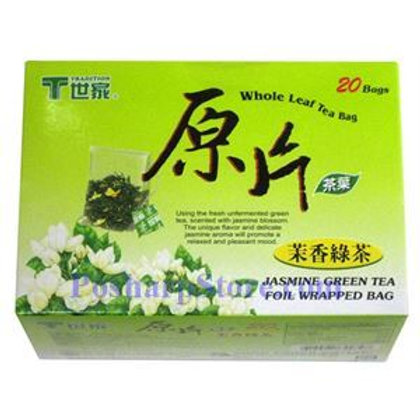 Tradition Whole Leaf Jasmine Green Tea 20bags 5 boxes Free Shipping