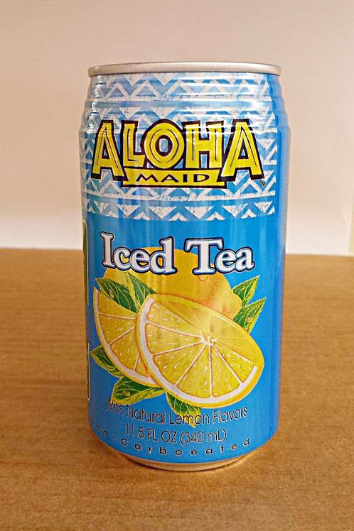 Aloha Maid Iced Tea 340ml Free Shipping