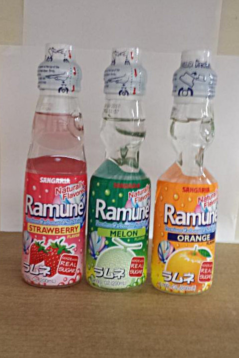 Ramune Carbonated Soda Pop (6 Pack) Free Shipping