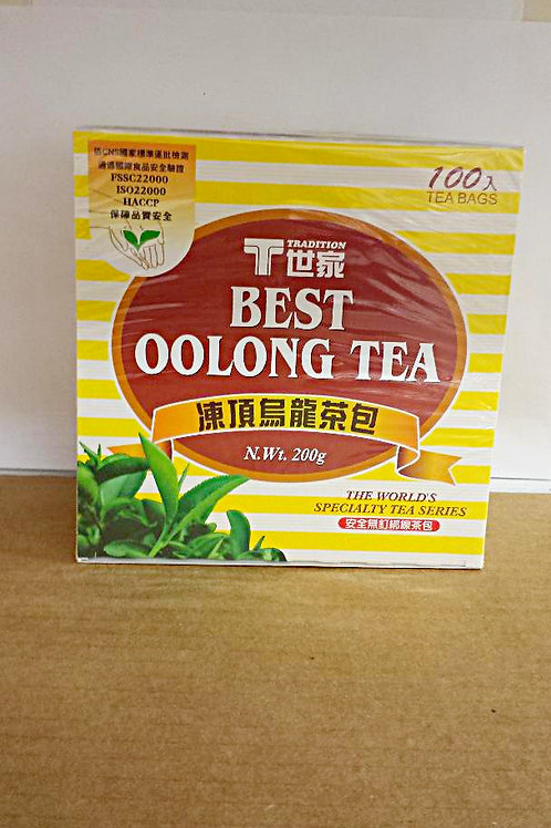 Tradition Best Oolong Tea 100bags 4 boxes Free Shipping