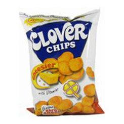Clover Chips Cheesier 145gm 4 pkg Free Shipping
