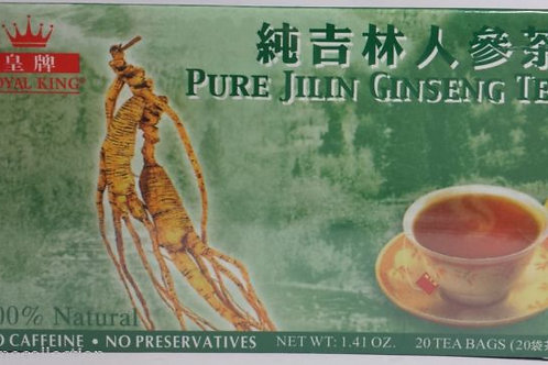 Royal King Pure Jilin Ginseng Tea 20bags 5 boxes Free Shipping