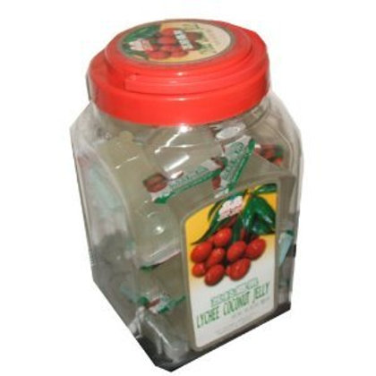 Jin Jin Lychee Coconut Jelly 1500gm 3 jars Free Shipping
