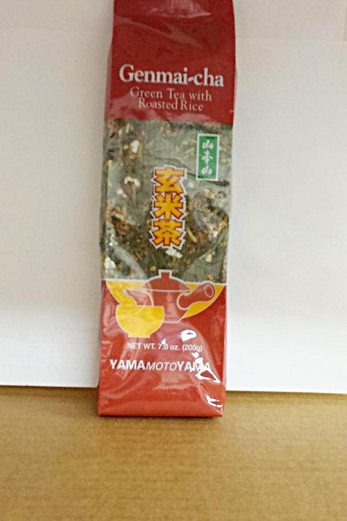 Yamamotoyama Genmai-Cha 7oz Free Shipping
