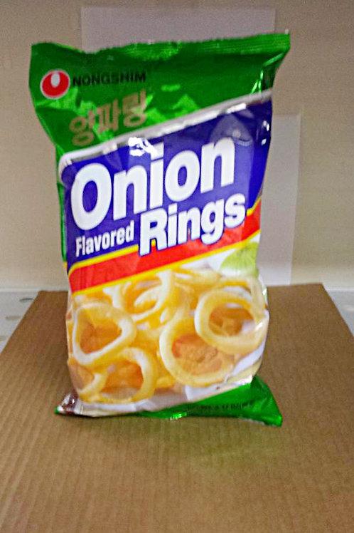 Nonshim Onion Rings 90gm 3 pkgs Free Shipping