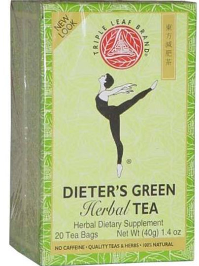 Triple Leaf Dieters Green Tea 20bags 8 boxes Free Shipping