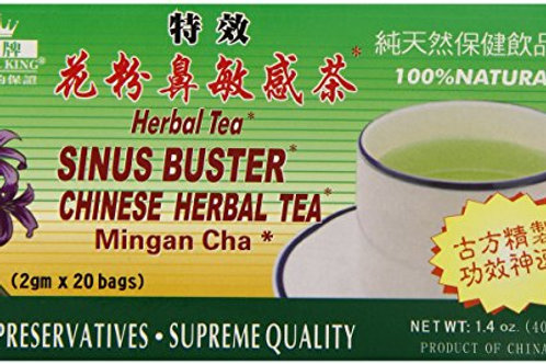 Royal King Herbal Tea Sinus Buster 20bags 8 boxes Free Shipping