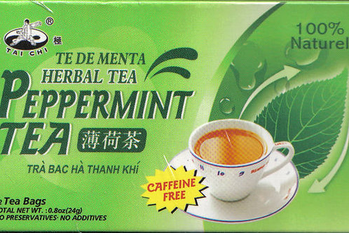 Tai Chi Peppermint Tea 12bags 6 boxes Free Shipping