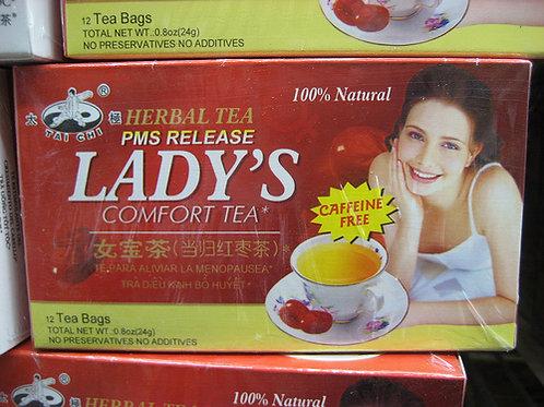 Tai Chi Ladies Comfort Tea 12 bags 6 boxesFree Shipping