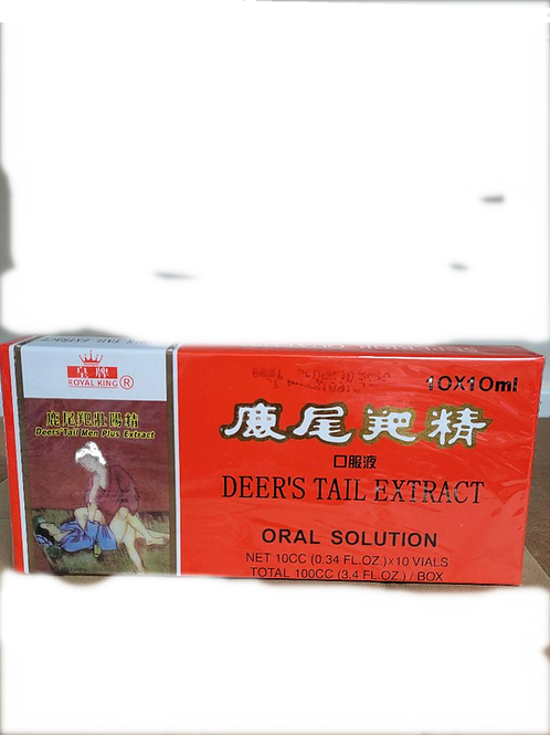 Royal King Deer's Tail Extract 10x10cc 6 boxes Free Shipping