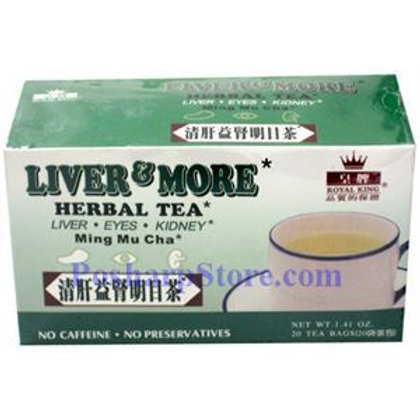 Royal King Liver & More Herbal Tea 20bags 5 boxes Free Shipping