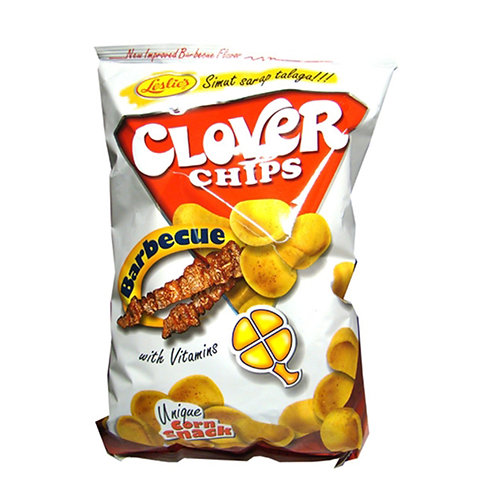Clover Chips Barbecue Flavor 145gm 4 pkg Free Shipping